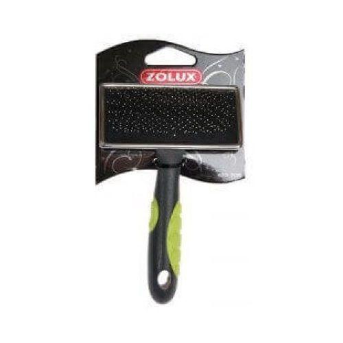Zolux bursten - zgrzebło metalowe średnie - zęby miękkie - darmowa dostawa od 95 zł!
