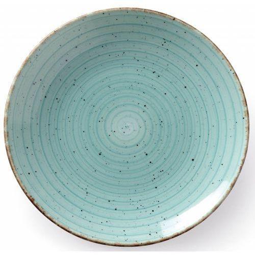 Talerz płytki turkus | śr. 270 lub 300 mm marki Fine dine