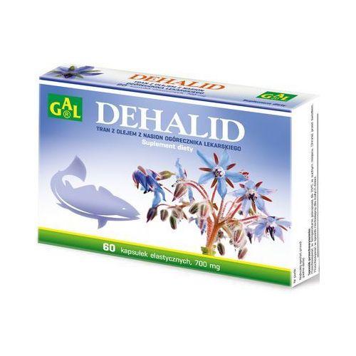 Dehalid (tran + olej z ogórecznika lekarskiego) 60 kaps. - kapsułki tran