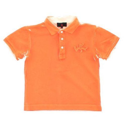 John richmond  polo t-shirt dziecięcy pomarańczowy 6 lat