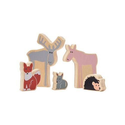 Kids Concept Edvin Drewniane Zwierzęta, 1000212