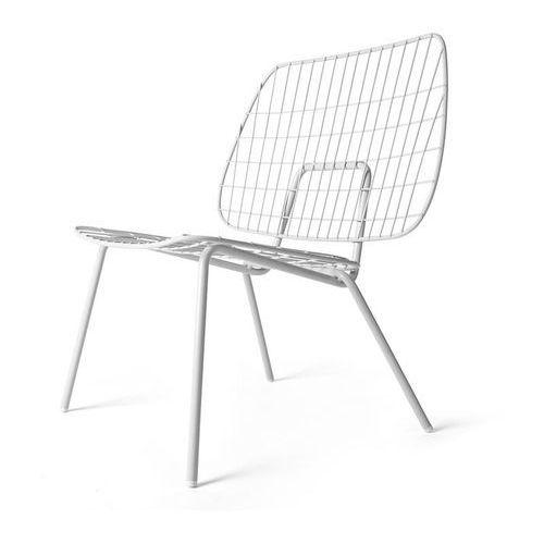 Menu Krzesło wm string lounge chair białe