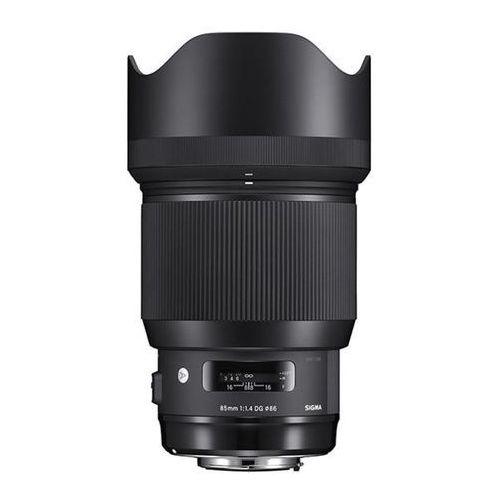 Sigma A 85mm f/1.4 DG HSM Nikon - produkt w magazynie - szybka wysyłka! (0085126321550)