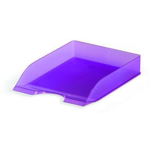 Durable Półka na dokumenty basic przezroczysta fioletowa