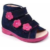 Buty profilaktyczne dla dzieci Dawid 1041 - Różowy ||Granatowy