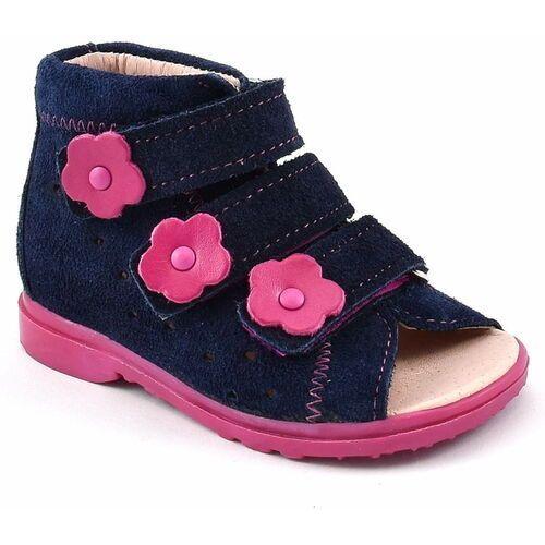 Buty profilaktyczne dla dzieci 1041 - różowy ||granatowy marki Dawid