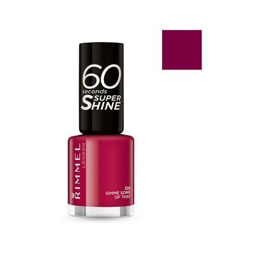Rimmel london 60 seconds super shine lakier do paznokci 335 gimme some of that 8ml - rimmel