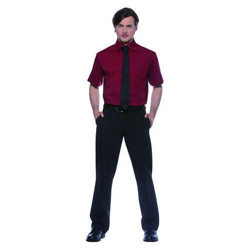 Koszula męska z krótkim rękawem, rozmiar 48, jasnoniebieska | KARLOWSKY, Jona