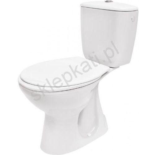 CERSANIT PRESIDENT Kompakt WC z odpływem pionowym z deską K08-029, K08-029