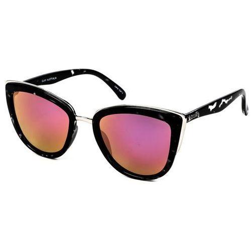 Okulary Słoneczne Quay Australia QW-000065 MY GIRL BLKTO/PNK
