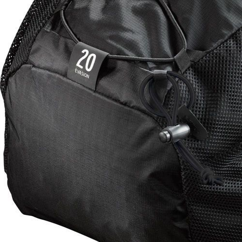 Plecak turystyczny evasion 20 black (382392) czarny marki