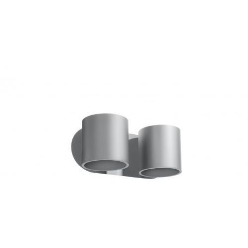Kinkiet ORBIS 2 szary marki Sollux Lighting model SL.0661