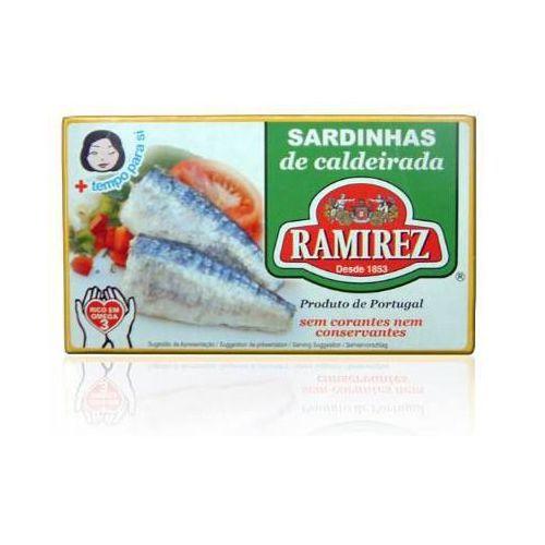 Ramirez Sardynki portugalskie duszone z warzywami w białym winie 125g