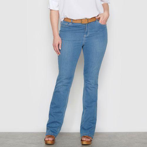 """Streczowe dżinsy bootcut """"Smukła sylwetka"""" wewn. dł. nogawki. 78 cm"""