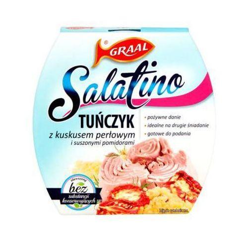 160g salatino tuńczyk z kuskusem perłowym i suszonymi pomidorami marki Graal