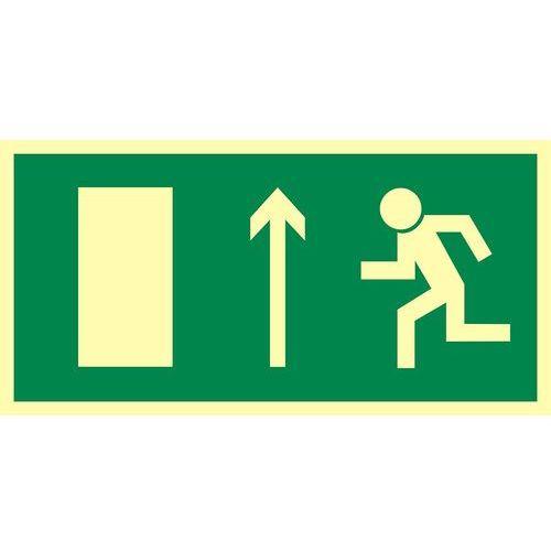 Top design Kierunek do wyjścia drogi ewakuacyjnej w górę (znak uzupełniający)