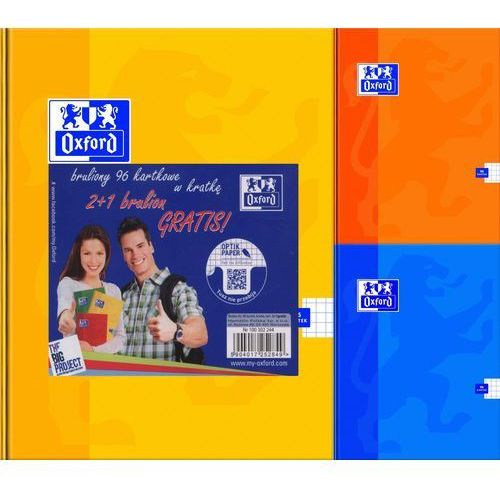 Brulion a5/96 kartek kratka 2+1 gratis marki Hamelin