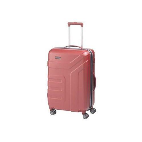 Travelite vector walizka średnia 79/91l koralle 4-koła