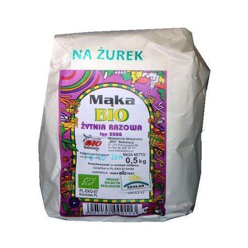 Bio babalscy Mąka na żurek 500g (5905198000113)