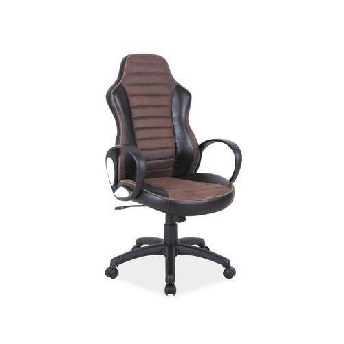 Fotel obrotowy, krzesło biurowe Q-212 brown, Q-212 BR