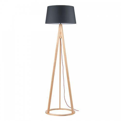 Lampa podłogowa Spot Light Konan 1x60W E27 buk/czerwony/antracyt 6424631, 6424631