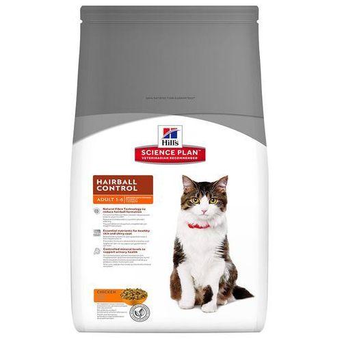 Hills Feline Hairball Control Adult, kurczak - 2 x 5 kg