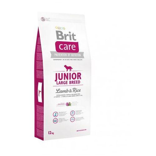 care new junior large breed lamb & rice 12kg marki Brit