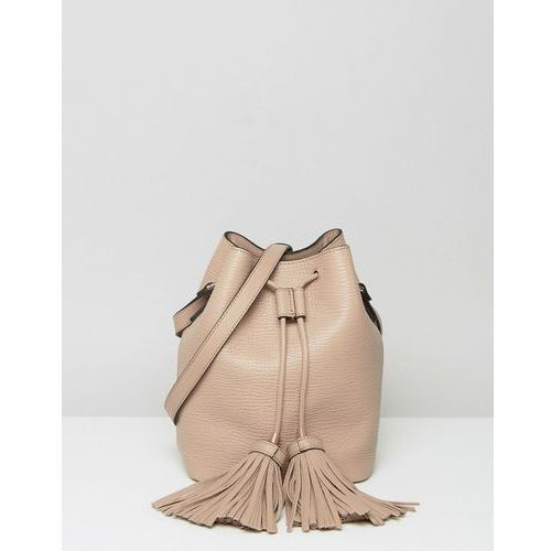 Ted Baker Drawstring Duffle Bag With Tassel Detail - Brown - produkt z kategorii- Pozostałe