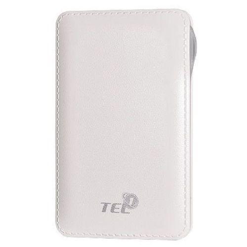 Telone Bateria zewnętrzna power bank tel1 slim 8000mah biały (5900217200413)
