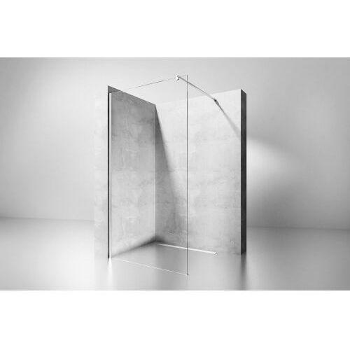 FLEXI Ścianka Walk-In 80x185, szkło transparentne + powłoka Easy Clean, REA-K1901