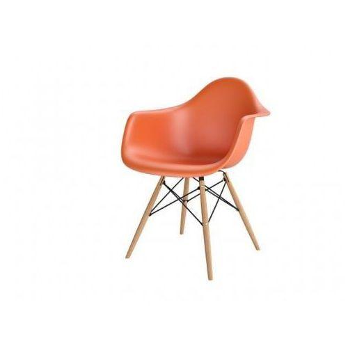 D2.design Krzesło p018w pp inspirowane daw - pomarańczowy (5902385710299)