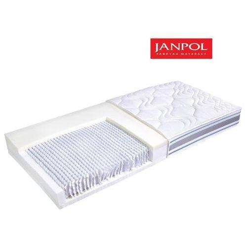 Janpol rea - materac multipocket, sprężynowy, rozmiar - 200x190, pokrowiec - jersey standard wyprzedaż, wysyłka gratis marki Materace janpol