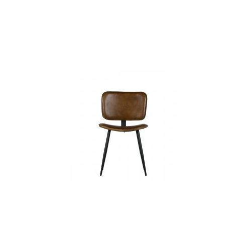 Krzesło RANGE skórzane oliwka - Be Pure, 800760-O