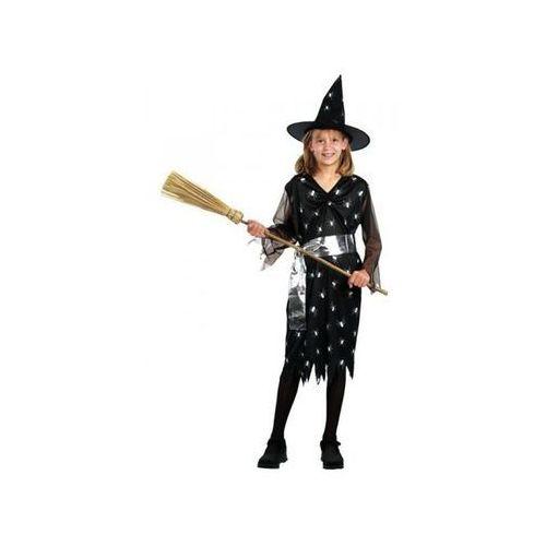 Strój na Halloween - Czarownica 10 - 12 lat, kostium/ przebranie dla dzieci, odgrywanie ról
