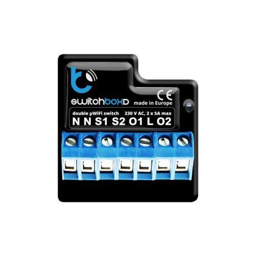 Blebox Sterownik switchboxd - zarządzanie dwoma urządzeniami elektrycznymi