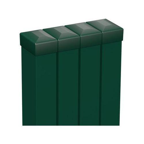 Słupek ogrodzeniowy 4 szt. 6 x 4 x 200 cm zielony marki Polargos