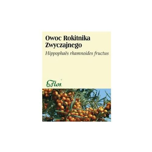 Owoc rokitnika zwyczajnego 50 g FLOS - produkt z kategorii- Warzywa i owoce