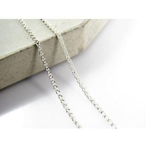Megasilver Srebrny (925) łańcuszek lisi ogon 50 cm + opakowanie