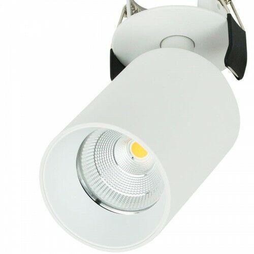 LACCE MINI Biała LED 9,2W 3000K CRI>90 Lampa podtynkowa ruchoma OXYLED 455521, 455521