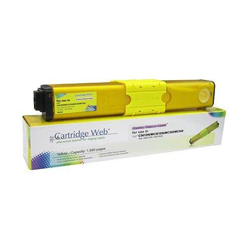 Toner do oki c301 c321 mc332 mc342 zamiennik 44973533 1,5k yellow toner do oki c301 c321 mc332 mc342 zamiennik 44973533 1,5k yellow marki Cartridge web