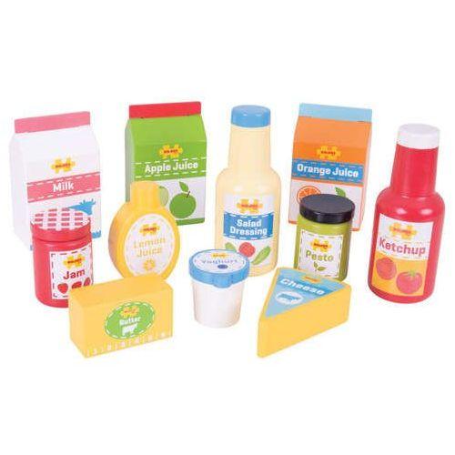Zestaw żywności ii do zabawy w sklep dla dzieci - 11 elementów marki Bigjigs toys