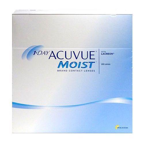 Soczewki jednodniowe 1·day acuvue moist - 90 sztuk marki Johnson & johnson