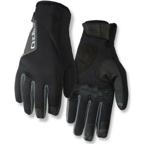 Giro ambient 2.0 rękawiczka rowerowa mężczyźni czarny xxl 2018 rękawiczki zimowe