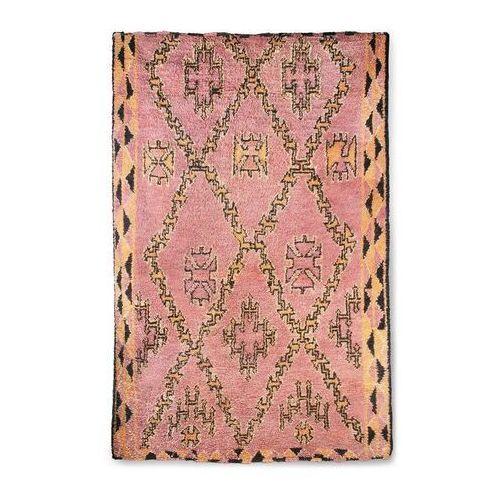 HKliving Ręcznie tkany wełniany dywan berberyjski terra/pomarańczowy (180x280) TTK3042 (8718921033831)
