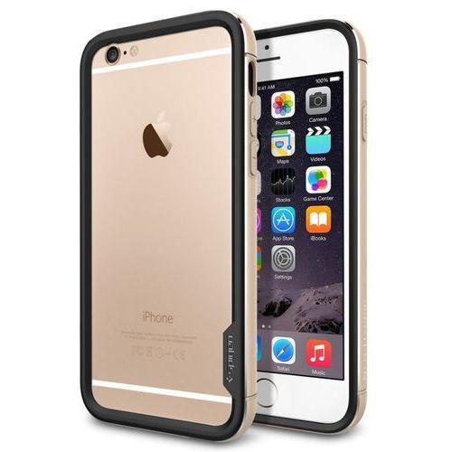 Etui SPIGEN SGP11187 do iPhone 6 (4.7) Złoty (Futerał telefoniczny)
