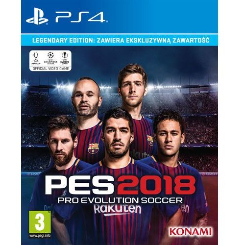 OKAZJA - Pro Evolution Soccer 2018 (PS4)