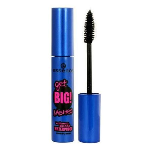 Essence  get big! lashes volume boost waterproof mascara 12ml w tusz do rzęs black
