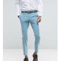super skinny wedding suit trousers - blue, Noose & monkey