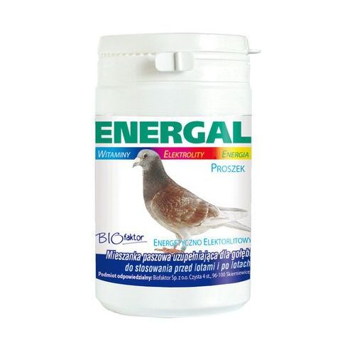 energal - preparat energetyczno-elektrolitowy dla gołębi - proszek 200g od producenta Biofaktor