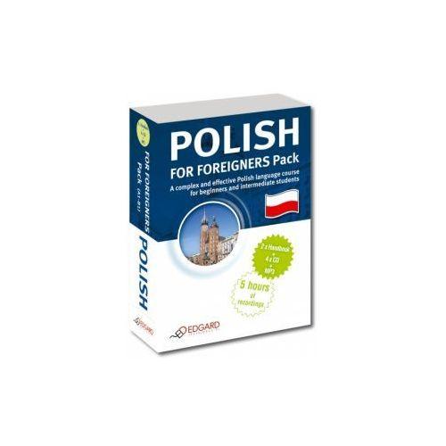 Polish for foreigners pack. polski dla cudzoziemców pakiet + cd marki Edgard
